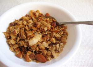 Peanut Butter Coconut Granola
