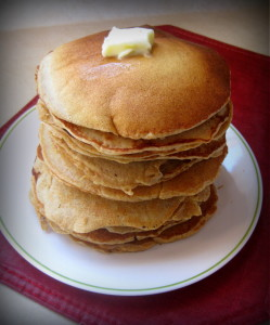 Basic Whole Wheat Pancakes